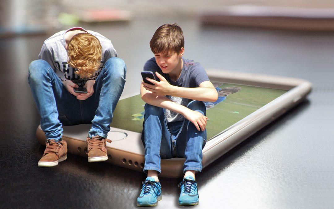 Niños libres de wifi